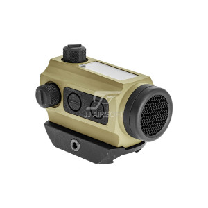 Solar Power Red Dot with Low Mount and Killflash (Tan)